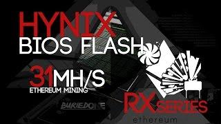 RX470/480 HYNIX Memory BIOS Mod/Flash Tutorial For High Mining Speeds