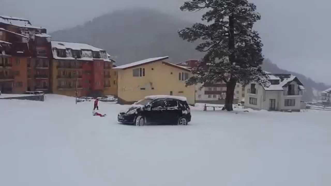 Honda fit snow 213 doovi for Honda fit in snow