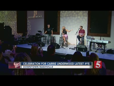 Carrie Underwood Honored For Two #1 Hits