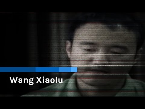 China state TV 'confession': Wang Xiaolu