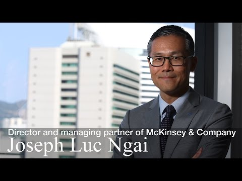 Joseph Luc Ngai, director and managing partner of McKinsey & Company