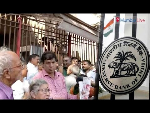 Citizen ire at RBI over junked notes   Mumbai Live