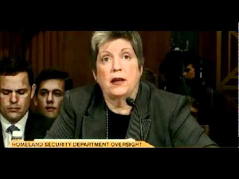 Janet Napolitano - Illegals Authorized to Work in USA.wmv