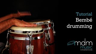 Bembe drumming Free tutorial by Michael de Miranda