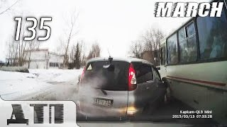 Подборка Аварий и ДТП от 16 03 2015 Март 2015 135 Car crash compilation March 2015