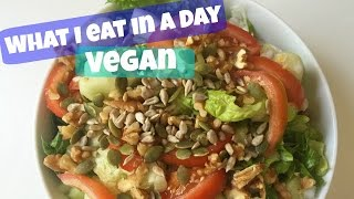 What I Eat in a Day-VEGAN/PLANT BASED