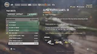World of Tanks Mercenaries Alpha Winter Games XXX done