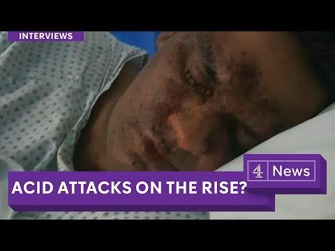 Teenagers arrested after London acid attacks