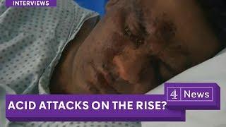 Teenagers arrested after London acid attacks