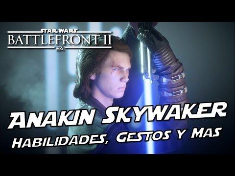 Star Wars Battlefront 2 Anakin Skywalker habilidades, Gestos, Animaciones y Mas ¡ESTA ROTISIMO! thumbnail