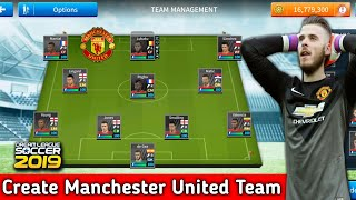 Hack Dream League Soccer 2019 Manchester United
