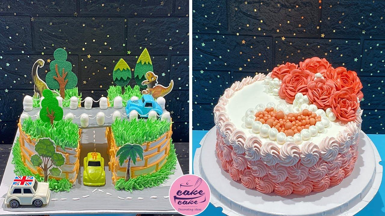 Most Satisfying Cake Decorating Compilaton | Beautiful Cake Decorating Tutorials for Birthday