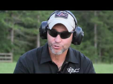Chili Palmer of VTAC demos the sitting position and long range accuracy. Trigger Time TV.