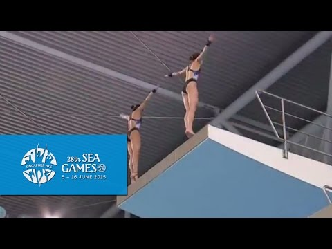 Aquatics Diving Synchronised Platform Finals (Women) Day 2 | 28th SEA Games Singapore 2015