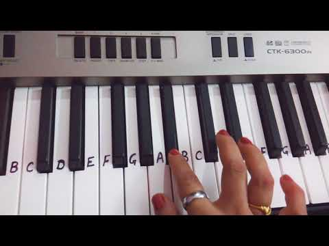 Hafte me Chaar Shanivaar hone chaiye| Keyboard piano Cover