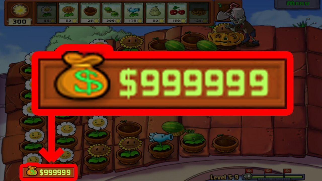 Plants vs Zombies - An easy way to make money