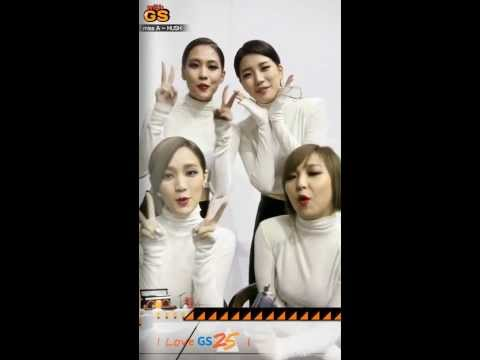131112 GSTV WithGS Miss A - Hush Interview