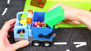 Train, Excavator, Ambulance, Tow Trucks, Police Cars, Bus & Fire Truck Toy Vehicles for Kids