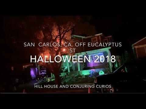 "San Carlos Neighborhood Halloween 2020 Halloween 2018 San Carlos, CA. "" The Haunting Of Hill House"" And"