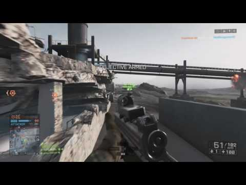 RPG coverage of the objective - Battlefield™ 4