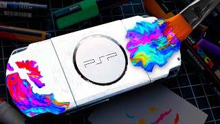My First CUSTOM PlayStation Portable 🎮🔥