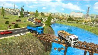 Indian Cargo Truck Driver Simulator 2021 Gameplay    Eub Gaming screenshot 2