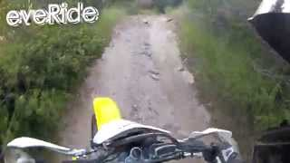 Dirt-E-vlog7  Boise National Forest Service road 211 and the drz 400