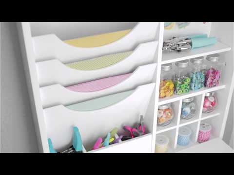 Fold Down Craft Table by We R Memory Keepers