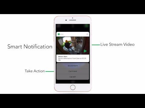 Enhanced Lock Screen Notifications on Arlo Smart