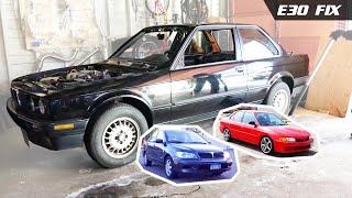 E30 Fix 7   Tire Leak Check + Lancer Fix & Mirage Fix Info