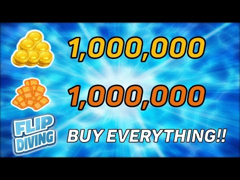 HOW TO GET 1,000,000 COINS/TICKETS ON FLIP DIVING!! Hack/Cheat/Mod