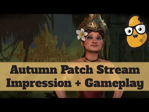 Civ 6 Autumn Patch - First Impressions and Indonesia Livestream