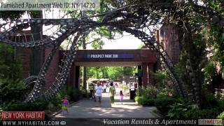 Brooklyn, New York City - Video tour of a furnished apartment on 4th Avenue (Park Slope)
