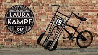 Laura´s Beer Bike (BMX meets Handtruck)