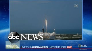 SpaceX, NASA launch US astronauts into space