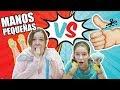 TINY HANDS 👐SLIME vs Sin PULGARES ¿Quien ganará? /