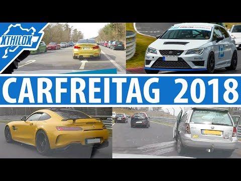 Carfriday 2018 - 90% Traffic Jam + Crashes but 90% Funexperience - Nürburgring Nordschleife BTG
