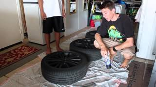 How to Plasti Dip your wheels (Subaru Brz)