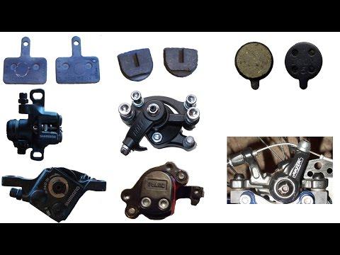 Как заменить или установить тормозные колодки на дисковых тормозах велосипеда видео.