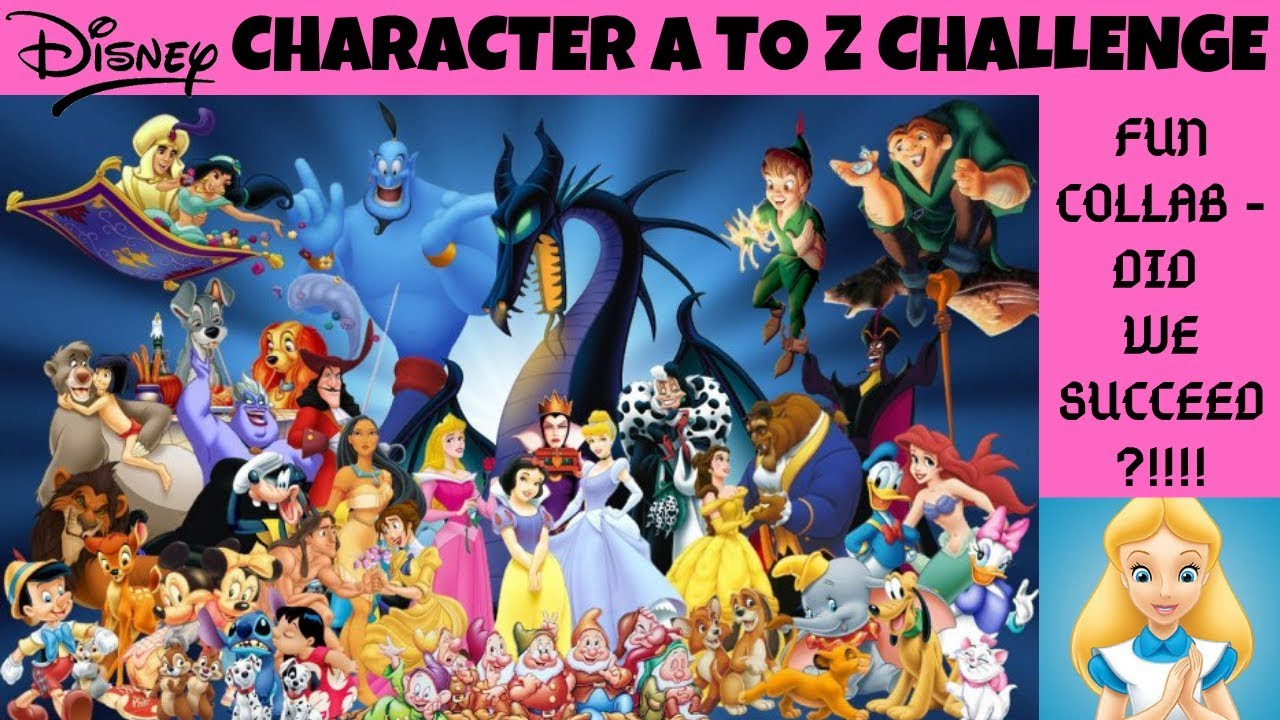 Alphabetical List Of Disney Cartoon Characters | lairfan.org