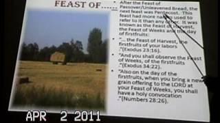 Feast Days pt 3: Pentacost-Pastor Bill Hughes