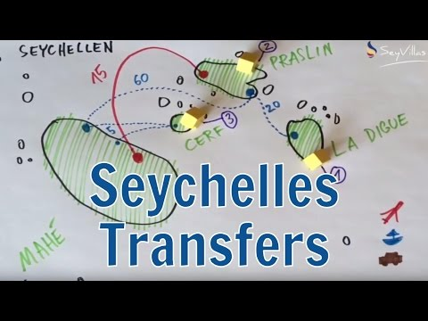 Transfers in the Seychelles - Island-hopping around the inner islands