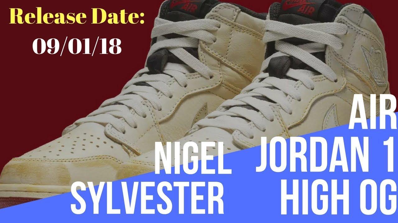 Detailed Look at Nigel Sylvester s Air Jordan 1 Collab - YouTube 69c793244