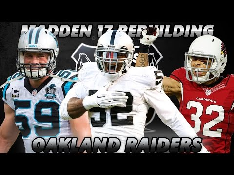 Madden 17 Connected Franchise | Rebuilding The Oakland Raiders | SURPRISE SUPERSTAR!