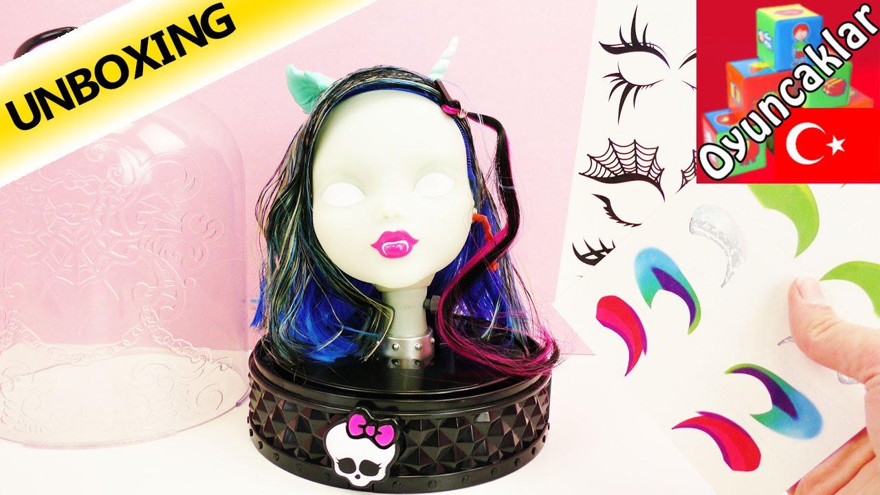 Monster High The Anti Styling Head Oyuncak Makyaj Kafası Türkçe