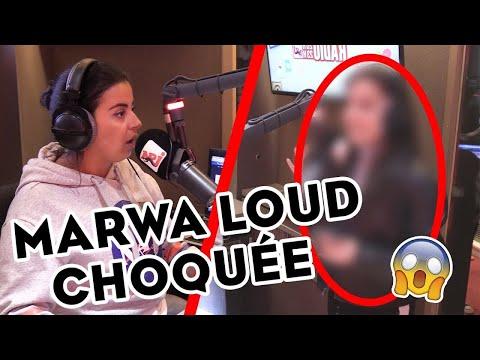 MARWA LOUD CHOQUÉE PAR UNE COVER EN DIRECT !