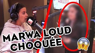 MARWA LOUD CHOQUÉE PAR UNE COVER EN DIRECT !