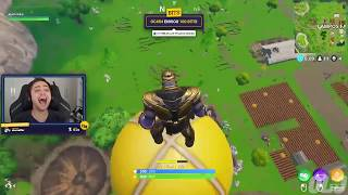 Most Epic ESCAPE From THANOS   Fortnite WTF  Troll