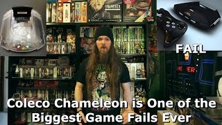 Coleco Chameleon is One of the Biggest Game Fails Ever - AlphaOmegaSin