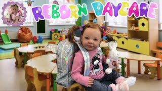 REBORN DAYCARE Ava's First Day (Fun Friday)